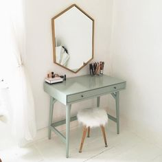 West Elm offers modern furniture and home decor featuring inspiring designs and colors. Create a stylish space with home accessories from West Elm. My New Room, My Room, Dressing Mirror, Dressing Tables, Dressing Rooms, Bedroom Desk, Bedroom Modern, Bedroom Vintage, Minimalist Bedroom