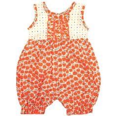 Kumquat Baby Romper in Red Cherries, 18-24M « Clothing Impulse