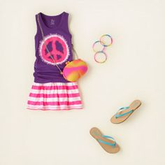 girl - outfits - easy peaces | Childrens Clothing | Kids Clothes | The Childrens Place