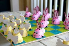 """Easter Checkers."" I like this only with peeps and you get to eat the ones you jump!"