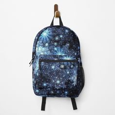 Snowflake Pattern, Snowflakes, Fashion Backpack, Clutches, Traveling By Yourself, Print Design, Backpacks, Art Prints, Printed