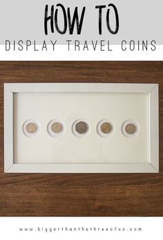 Display Travel Coins as Art Do you have coins from your travels just laying around? Use this modern idea to display travel coins as art!<br> Do you have coins from your travels just laying around? Use this modern idea to display travel coins as art! Diy Wall Art, Diy Art, Souvenir Display, D House, Tips & Tricks, Photo Tricks, Travel Souvenirs, Displaying Collections, Shadow Box