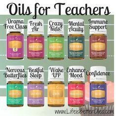 Young Living Essential Oils: Teacher More