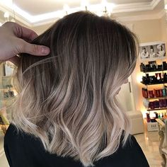 Ombre hair color Best short hairstyles for women 2019 - .You can find Ombre and more on our website.Ombre hair color Best short hairstyles for women 2019 - . Brown Ombre Hair, Ombre Hair Color, Cool Hair Color, Gray Hair, Blond Ombre, Purple Hair, Hair Color For Tan Skin Tone, Grey Ombre, Cabelo Ombre Hair