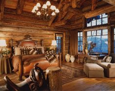 Western bedroom by Marmalade Interiors/LiveLikeYou, via Flickr