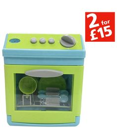 Buy Chad Valley Toy Dishwasher at Argos.co.uk - Your Online Shop for Cleaning role play, 2 for 15 pounds on Toys, Toys under 10 pounds.