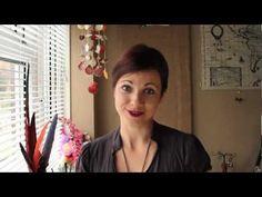 How to make a Swirl Filigree polymer clay jewelry by Aniko Kolesnikova #pcPolyzine.com  www.youtube.com/pcpolyzine