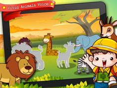 Animal Puzzle World App. This is a pretty good beginner puzzle app that features more than 100 animals. This app introduces early science, introductory geography, beginning spelling and puzzles. Free right now (3/22/12). Otherwise, it is worth the $0.99. Good for 2 and up.
