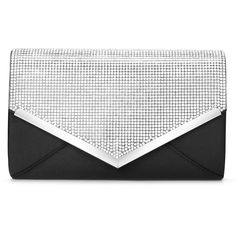CurvChic Women Evening Bag Clutch Purse Rhinestone-Studded Flap for Wedding Prom Cocktail Party - Sliver Shoulder Handbags, Shoulder Bags, Bridal Clutch, Wedding Purse, Black Clutch, Small Crossbody Bag, Casual Bags, Card Wallet, Clutch Purse