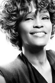 Whitney Houston- the legendary voice that will echo into eternity.