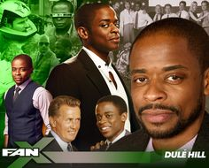 """Meet actor Dulè Hill at #FANX17! Known for portraying Burton """"Gus"""" Guster on Psych and Charlie Young on The West Wing! #utah #PSYCHatFANX17"""
