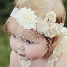 Wouldn't the twins look pretty with headbands like this?
