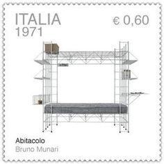 Abitacolo - Bruno Munari (stamp)  #mmgFantasia/02