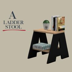Leo Sims - Ladder stool for The Sims 4