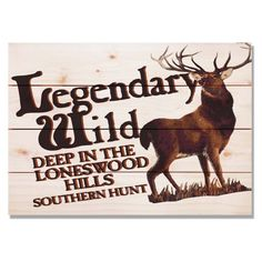 Daydream Legendary Wild Hunt Indoor/Outdoor Wall Art - WLWH2014