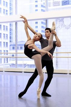 Joffrey ballet. I can tell by the studio.