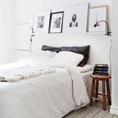 Veel wit als basis | Slapen in Scandinavische stijl doe je zo | SwissSense.nl