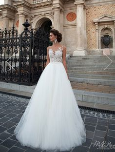 #Mila Nova#wedding dress#2016