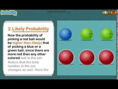 Probability - Equal, Likely, Unlikely, Certain, Impossible - Grade 3 Math Lesson - YouTube