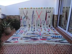 Your place to buy and sell all things handmade Beautiful Wall, Berber Rug, Decoration, Geometric Shapes, Design Elements, Moroccan, Interior Decorating, Hand Weaving, Carpet