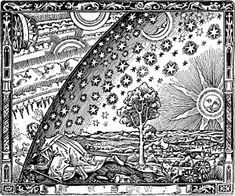 Poster-The edge of the firmament (Flammarion engraving) From L& Meteorologie populaire by Camill Artist: Poster print Colouring Pages, Adult Coloring Pages, Coloring Books, Free Coloring, Celestial Sphere, Celestial Map, Astronomy Pictures, Caspar David Friedrich, Flat Earth