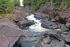 Images of Ragged Falls - Oxtongue River Provincial Park