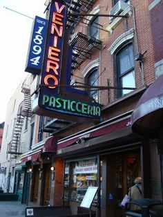 Veniero's Pastry Shop - 342 E 11th St  (between 2nd Ave & 1st Ave)   New York, NY 10003  (East Village)