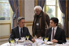 """Bertrand Tavernier """"QUAI D'ORSAY"""" avec Thierry Lhermitte et Raphaël Personnaz"""