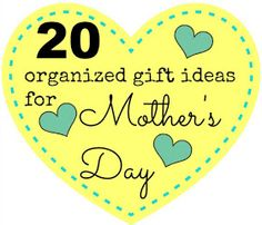 gift organized ideas mom