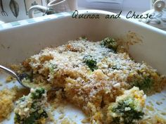 Quinoa and Cheese Recipe - A healthy and delicious alternative to macaroni and cheese