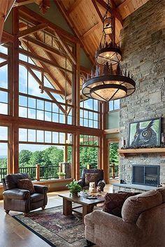 Step 3 to Building Your Home: Design and Budget - Woodhouse The Timber Frame Company A Frame Cabin, A Frame House, Timber Frame Homes, Timber House, Timber Frames, Cabin Kits, Colorado Homes, Rustic Design, Log Homes