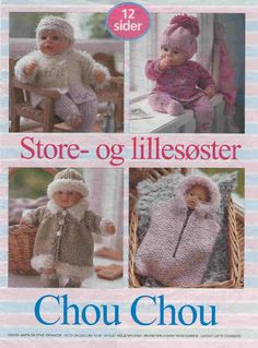 Photo: Knitting Dolls Clothes, Doll Clothes Patterns, Doll Patterns, Knit Patterns, Baby Born Clothes, Barbie, Build A Bear, Pattern Books, Kids And Parenting