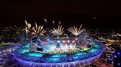 The Stadium provides the perfect setting and backdrop for the fireworks which helped to mark the end of the show.