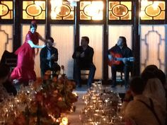 Flamenco show at a 5 stars hotel: Alfonso XIII, Seville.