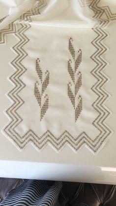 Weaving Patterns, Embroidery, Design, Cross Stitch Embroidery, Ideas, Table Toppers, Cross Stitch Letters, Hardanger, Bias Tape