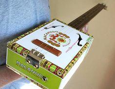Squier Design Presents Country Boy Guitars - Cigar Box Guitar - Sound Clips & Videos too.