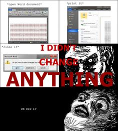 Le I Didn t Change Anything