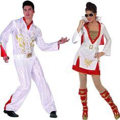 Costumes pour couples Rock Stars #déguisementscouples