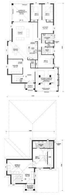 Avalon #HomeDesign #FloorPlan - Rosmond Homes