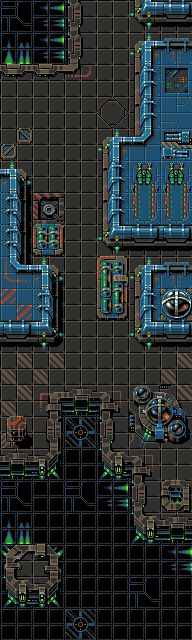 top down scifi spacestation tileset