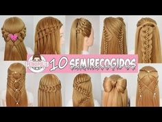 Cornrows Braids Hairstyles / Trenzas Africanas by Belleza sin Limites Heatless Hairstyles, Fast Hairstyles, Trendy Hairstyles, Braided Hairstyles, Easy And Beautiful Hairstyles, Cool Hairstyles For Girls, Curl Styles, Short Hair Styles, Rainbow Braids