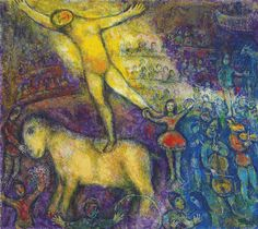 MARC CHAGALL (1887-1985) AU CIRQUE