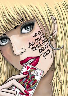 Poker Face - Lady Gaga #lyrics