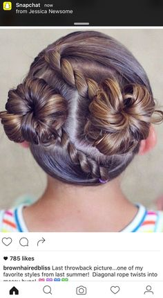 Beautiful children's hairstyles for … – Hair Style Braided Hairstyles For Teens, Childrens Hairstyles, Baby Girl Hairstyles, Twist Hairstyles, Ladies Hairstyles, School Hairstyles, Prom Hairstyles, Toddler Hairstyles, Hairstyles Pictures