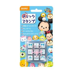 Disney Tsum Tsum Rubber Stamp Set  SS Size by JapanPop on Etsy