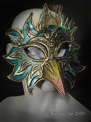 Mask making tutorial -- make a mask from recycled and reclaimed materials