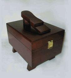 Shoe Shine Box, Pine