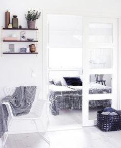 50 Cozy And Comfy Scandinavian Bedroom Designs | DigsDigs