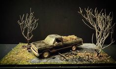 """#diorama #diecast #my #car #artist #art #life #model #cars #picup #truck…"