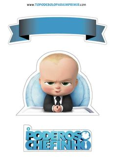 Free Boss Baby Birthday Party Printable Files Banner